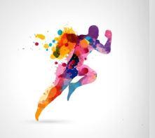 athletics person running