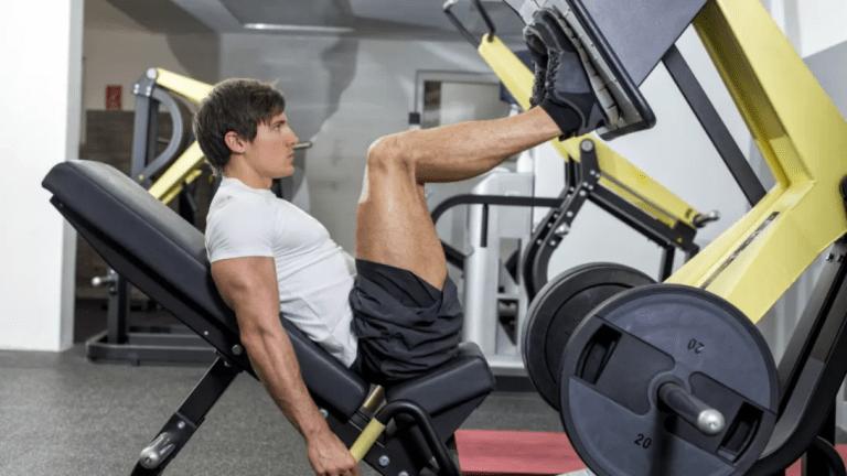 incline leg press